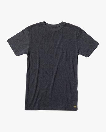 0 Solo Label T-Shirt Black M420URSO RVCA