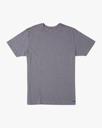 0 Solo Label T-Shirt Grey M420URSO RVCA