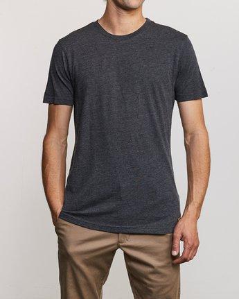 1 Solo Label T-Shirt Black M420URSO RVCA