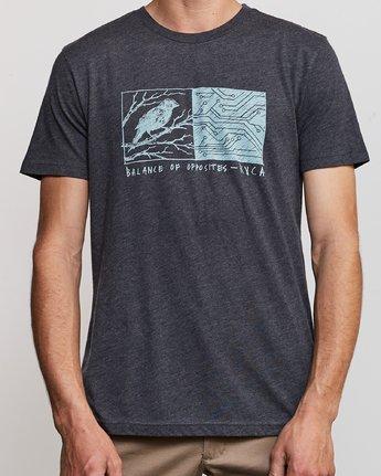 4 Ben Horton Tweet T-Shirt Black M420URTW RVCA