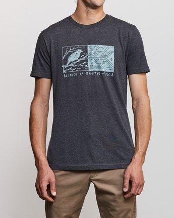 1 Ben Horton Tweet T-Shirt Black M420URTW RVCA