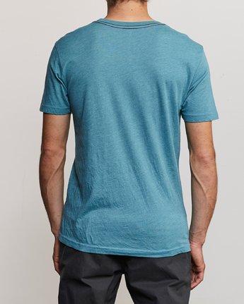 3 Ben Horton Tweet T-Shirt Blue M420URTW RVCA