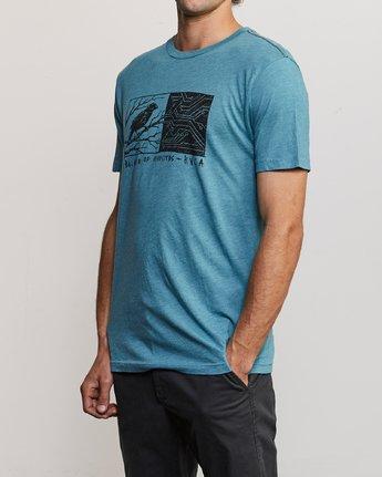 2 Ben Horton Tweet T-Shirt Blue M420URTW RVCA