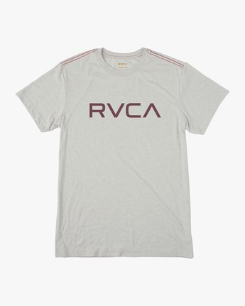 0 BIG RVCA SHORT SLEEVE TEE White M420VRBI RVCA