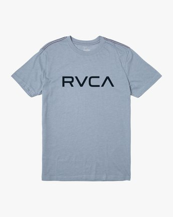 0 BIG RVCA SHORT SLEEVE TEE Blue M420VRBI RVCA
