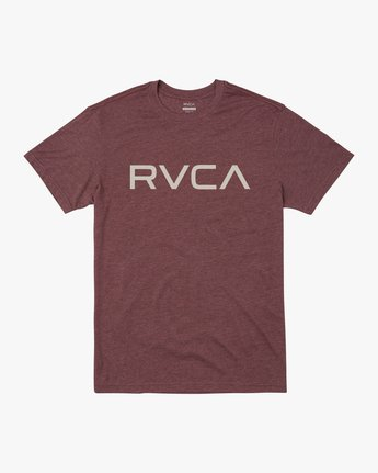 1 BIG RVCA SHORT SLEEVE TEE Red M420VRBI RVCA