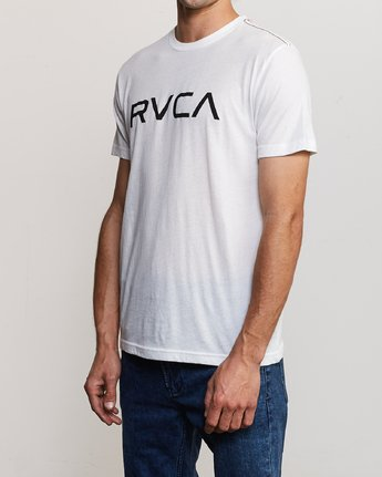 2 Big RVCA T-Shirt White M420VRBI RVCA