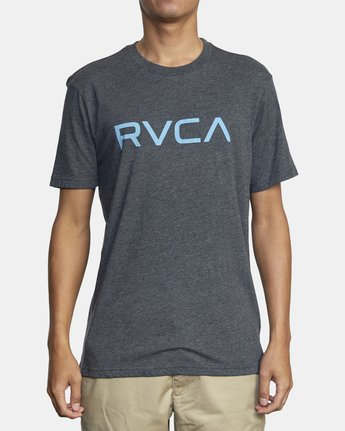 1 BIG RVCA SHORT SLEEVE TEE Black M420VRBI RVCA