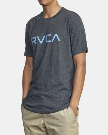 4 BIG RVCA SHORT SLEEVE TEE Black M420VRBI RVCA