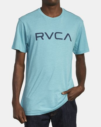2 BIG RVCA TEE Brown M420VRBI RVCA