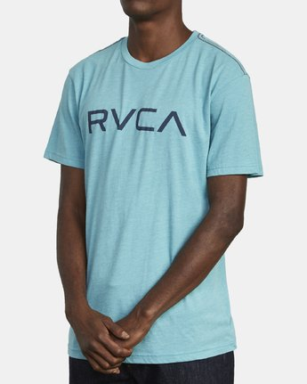 3 BIG RVCA SHORT SLEEVE TEE Brown M420VRBI RVCA