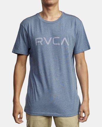 1 Big RVCA T-Shirt Blue M420VRBI RVCA
