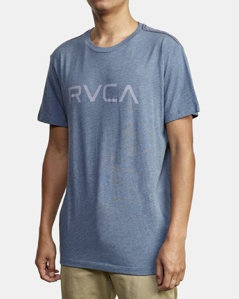 2 Big RVCA T-Shirt Red M420VRBI RVCA