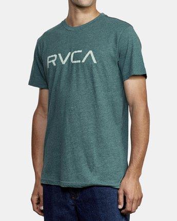 2 Big RVCA T-Shirt Green M420VRBI RVCA