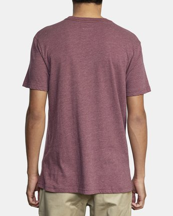 3 BIG RVCA SHORT SLEEVE TEE Red M420VRBI RVCA