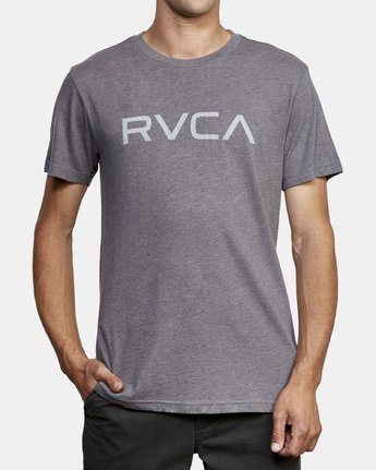 2 Big RVCA T-Shirt Grey M420VRBI RVCA