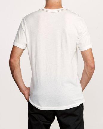 3 Cobrad T-Shirt White M420VRCO RVCA