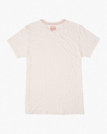 1 Happy Aloha T-Shirt White M420VRHA RVCA