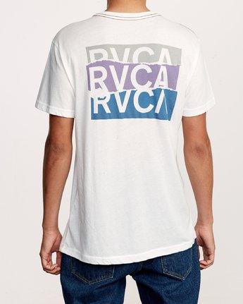 4 Overlap T-Shirt White M420VROV RVCA