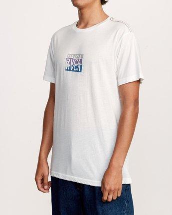 3 Overlap T-Shirt White M420VROV RVCA