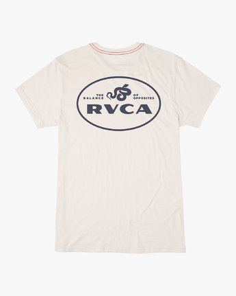 0 Serpent T-Shirt White M420VRSE RVCA