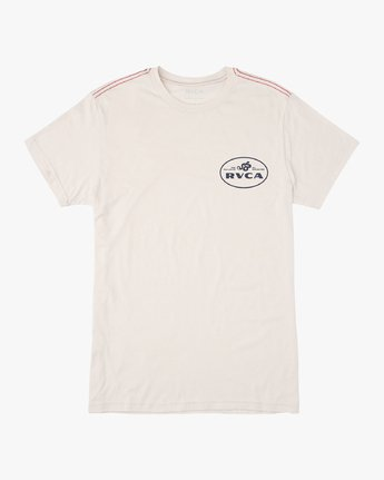 1 Serpent T-Shirt White M420VRSE RVCA