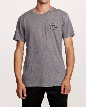 2 Serpent TEE Grey M420VRSE RVCA