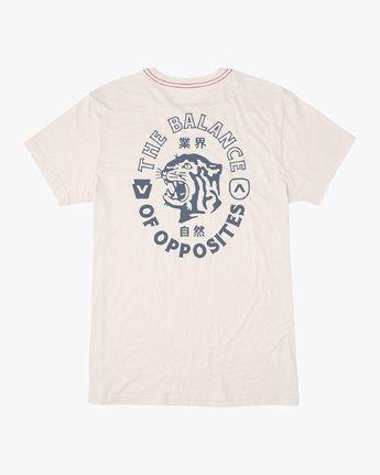0 Siam T-Shirt White M420VRSI RVCA