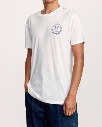 3 Siam T-Shirt White M420VRSI RVCA