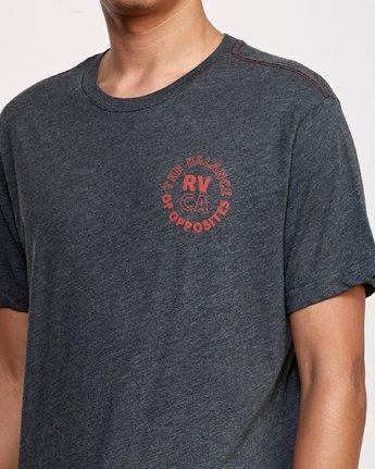 4 Siam T-Shirt Black M420VRSI RVCA