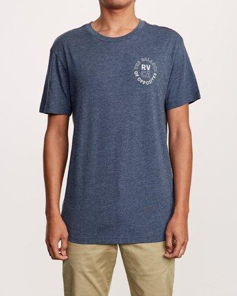 2 Siam T-Shirt Blue M420VRSI RVCA