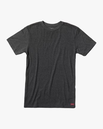 0 SOLO LABEL SHORT SLEEVE TEE Black M420VRSO RVCA