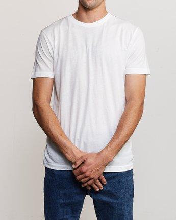 1 Solo Label T-Shirt White M420VRSO RVCA