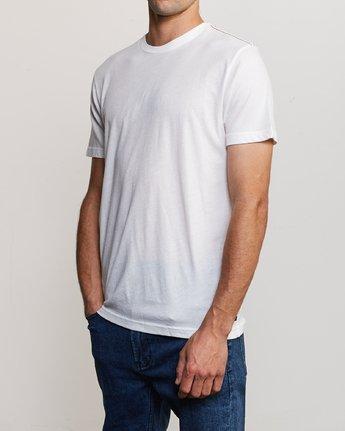 2 Solo Label T-Shirt White M420VRSO RVCA