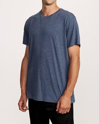 2 Solo Label T-Shirt Blue M420VRSO RVCA