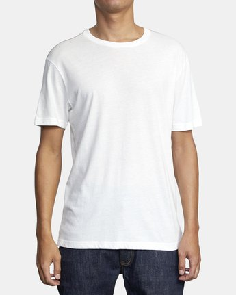 1 SOLO LABEL T-SHIRT White M420VRSO RVCA