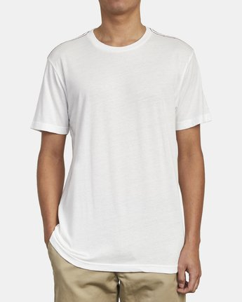 2 SOLO LABEL T-SHIRT White M420VRSO RVCA