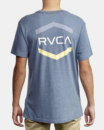 5 Airborne T-Shirt Blue M420WRAI RVCA