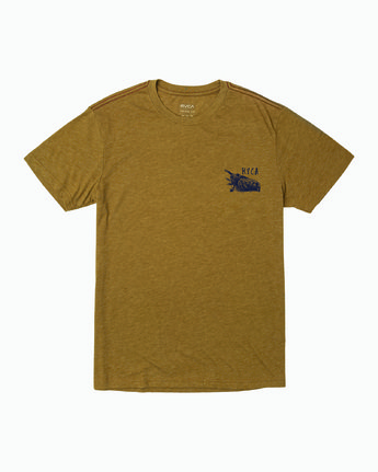 0 Ben Horton Here Lies T-Shirt  M420WRHE RVCA