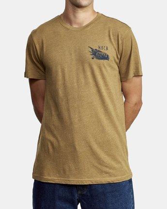 1 Ben Horton Here Lies T-Shirt  M420WRHE RVCA