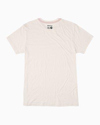 1 Alleged Margaret Tree T-Shirt White M422QRAT RVCA
