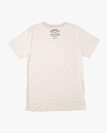 1 Sunset Beach Jiu Jitsu II T-Shirt White M422TRJM RVCA
