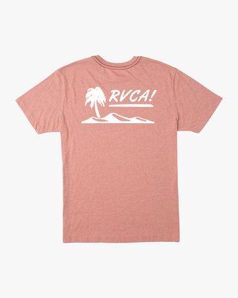 0 Deserted T-Shirt Brown M422URDT RVCA