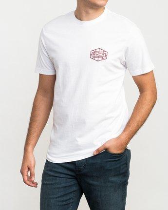 2 Global Hex T-Shirt White M426QRGL RVCA