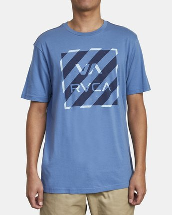 1 HAZARD BOX T-SHIRT Blue M4301RHA RVCA