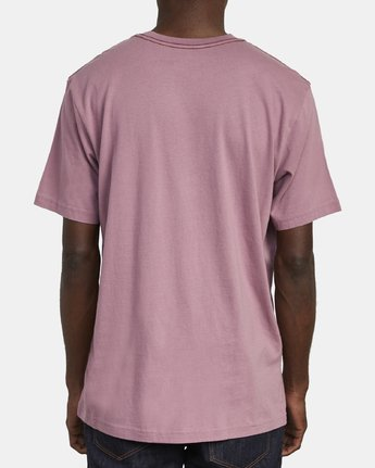 5 SPLITTER SEAL T-SHIRT Purple M4301RSP RVCA