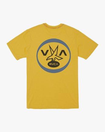 1 VA FALCON T-SHIRT Yellow M4301RVF RVCA