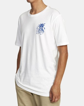 1 ALOHA SHOP SHORT SLEEVE T-SHIRT White M4302RAL RVCA
