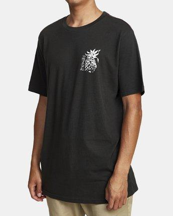 1 ALOHA SHOP SHORT SLEEVE T-SHIRT Black M4302RAL RVCA