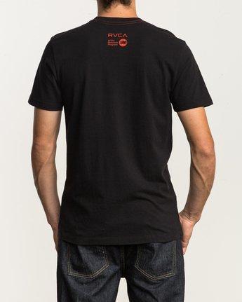 4 Alex Matus T-Shirt Black M430SRMA RVCA